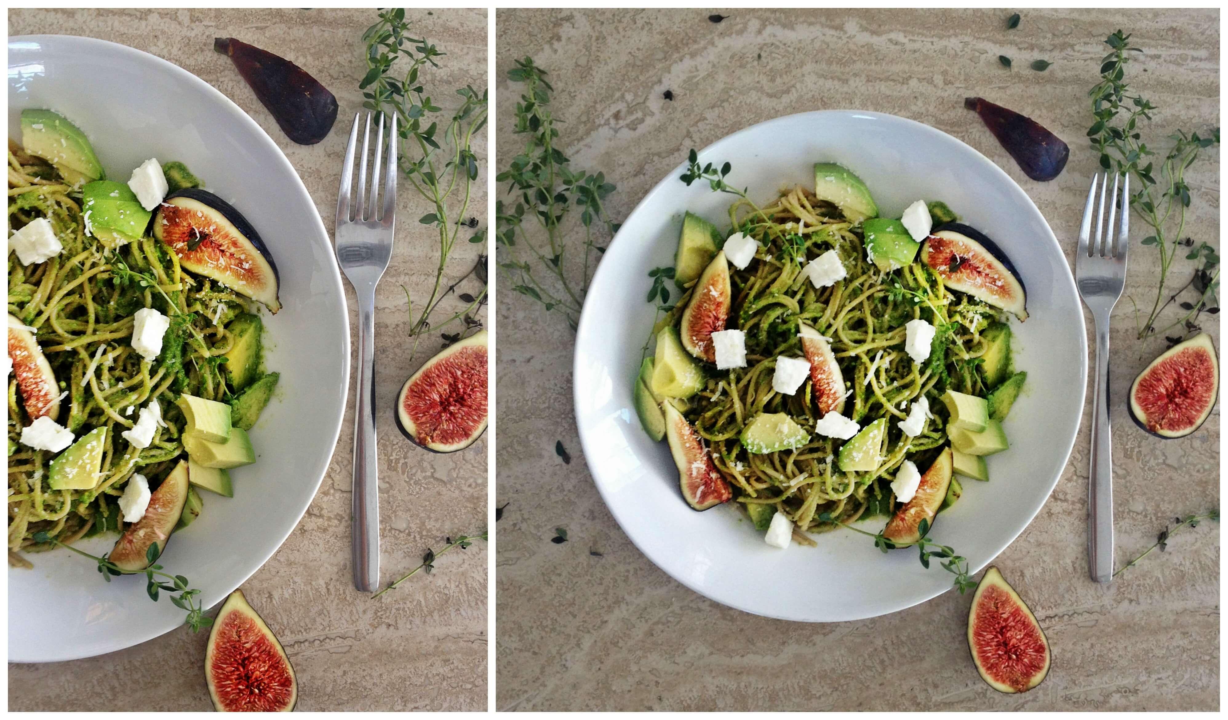 Healthy pasta dish