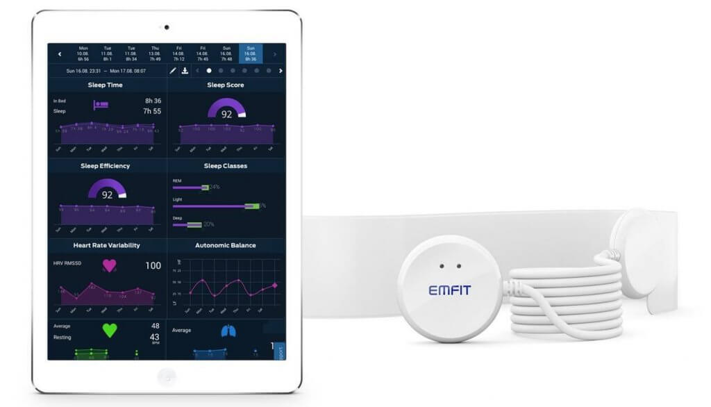 Emfit QS Sleep Monitor