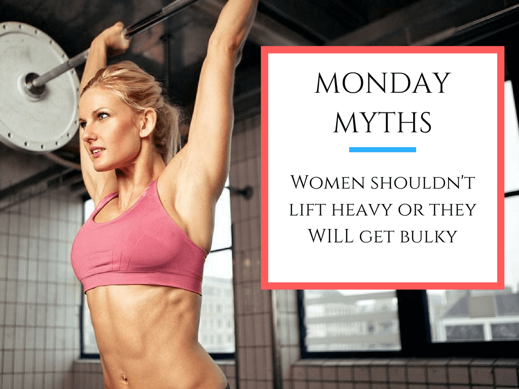 Training in the gym for women: myths and delusions 26