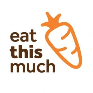 Eat this much logo