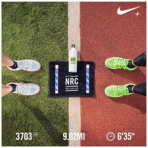 Nike Run Club fitness running app
