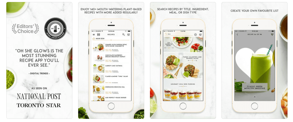 Healthy Eating Apps - Oh She Glows