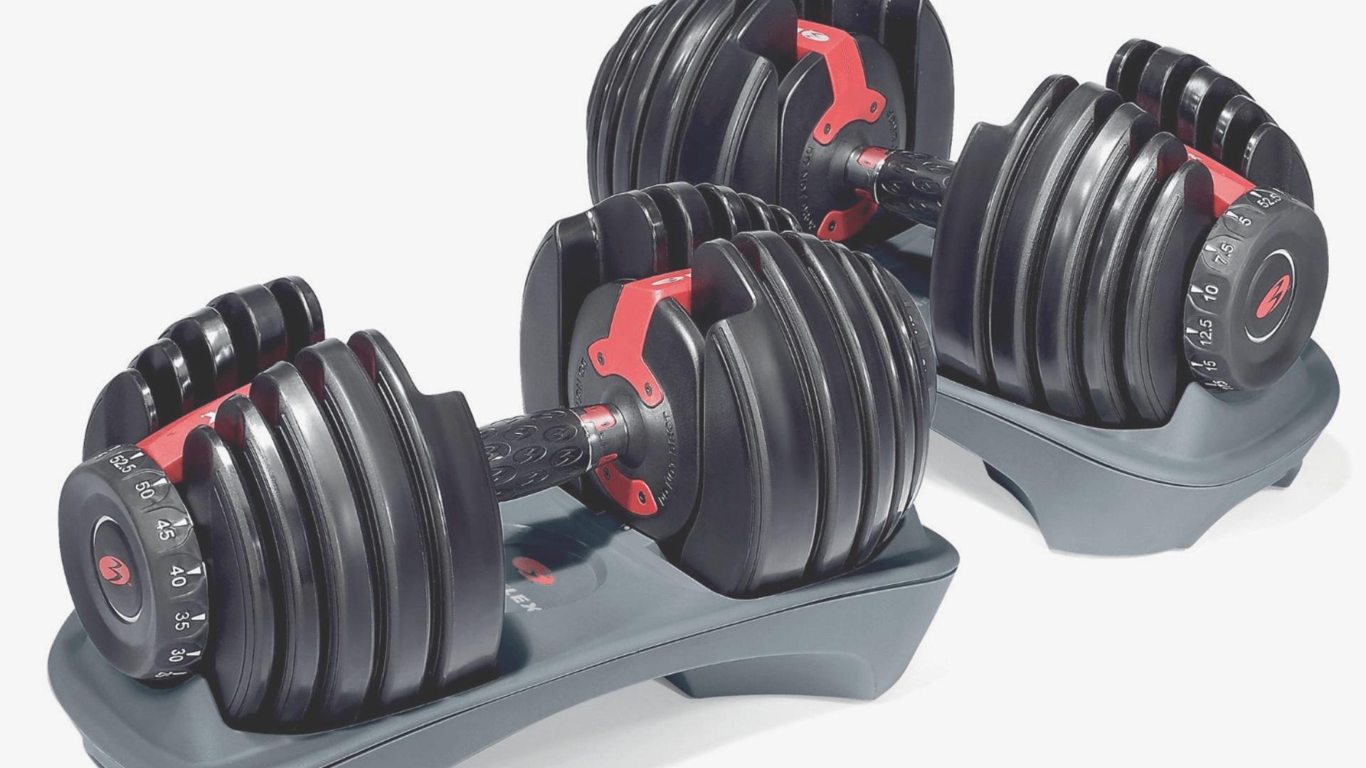 Bowflex Dumbells Home Gym