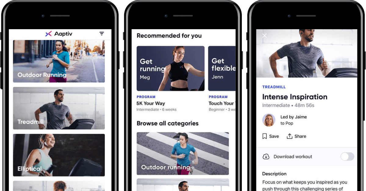 HIIT Treadmill Workout App