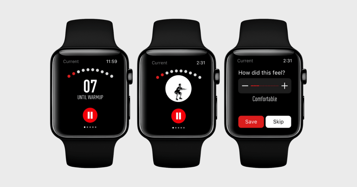 Johnson and Johnson 7 Minute Best HIIT App Apple Watch