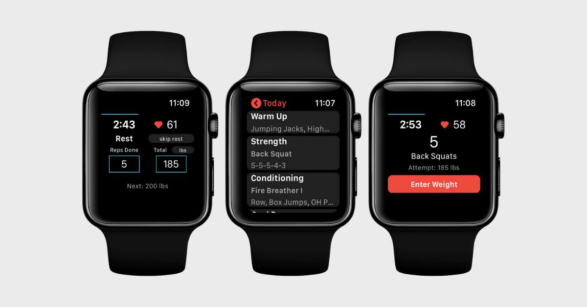 Keelo Best HIIT App Apple Watch