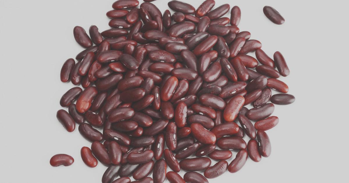 Kidney Beans Plant Based Protein Vegan Protein