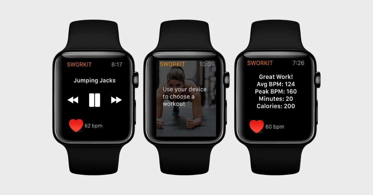 Sworkit Best HIIT App Apple Watch (1)