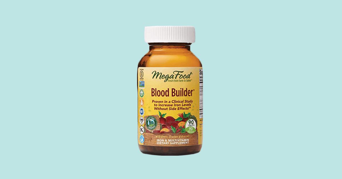 Blood Builder Vegan Best Dietary Supplement