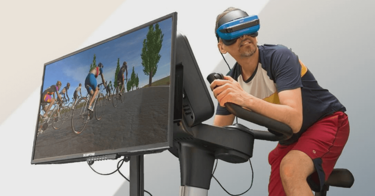 VR Training Bike Training