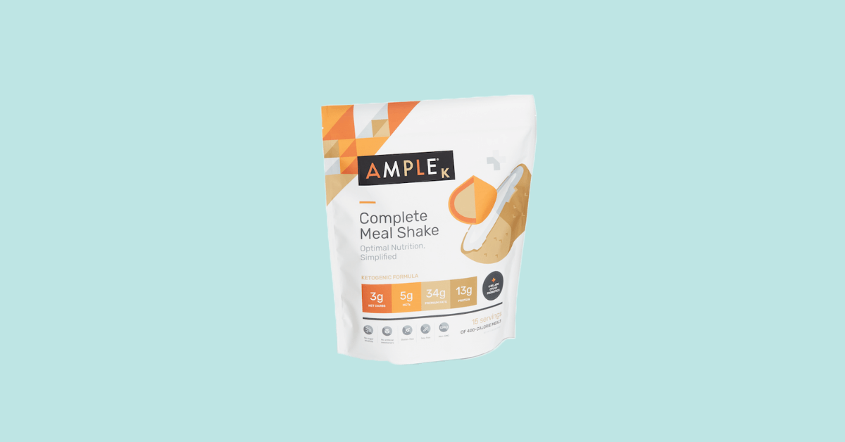 Ample Foods Meal Replacement Keto Best Dietary Supplements