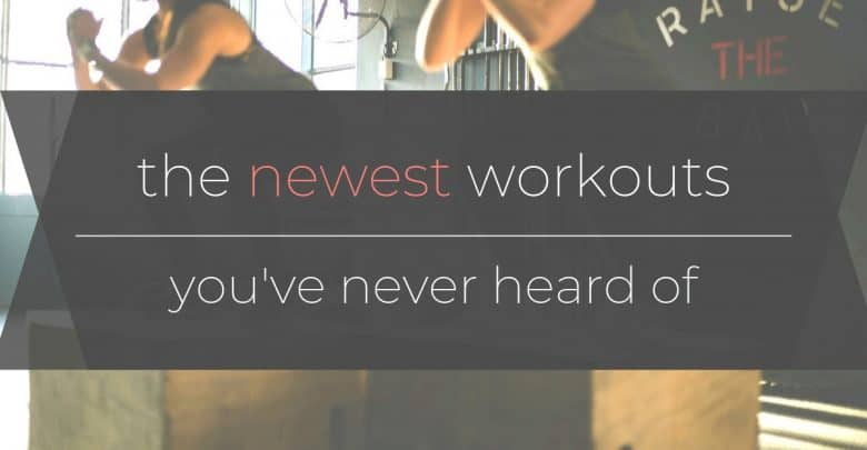 New Workouts Header
