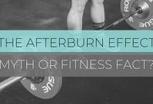 Afterburn Effect Header