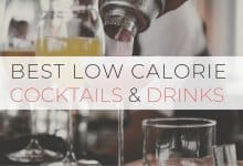 Low Calorie Cocktails and Drinks Header (1)